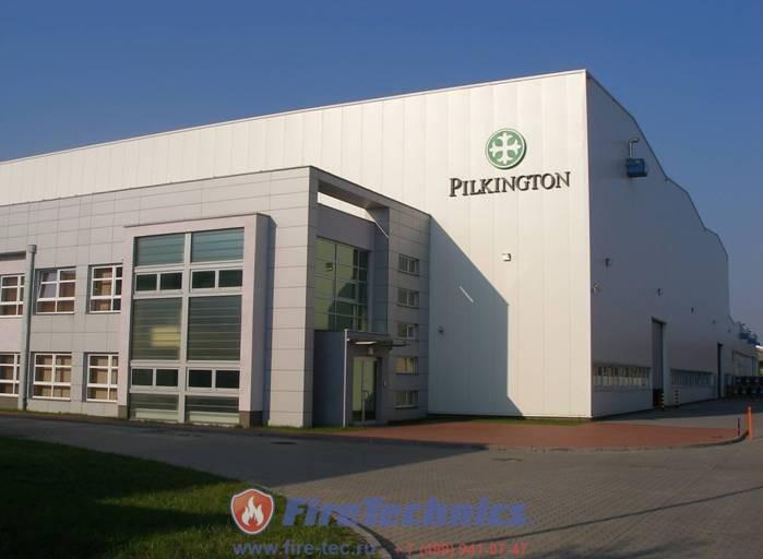Противопожарные шторы в Pilkington