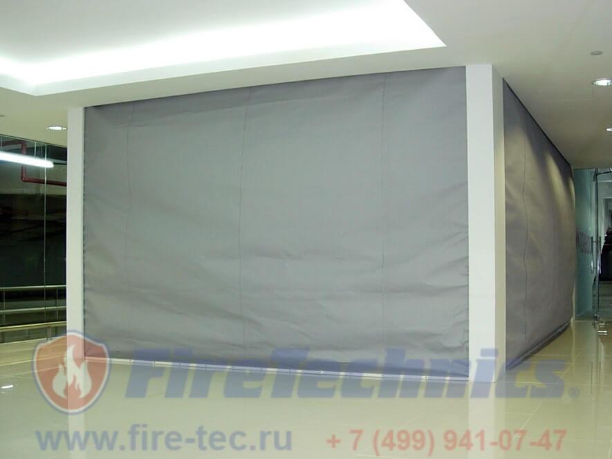 Противопожарные шторы EI60, EI120, EI180 (при орошении) в Узбекистане