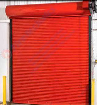 Особенности конструкции рулонных противопожарных ворот ei120
