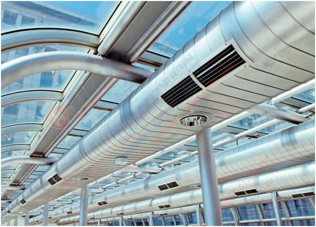 Промышленная вентиляция Кольт