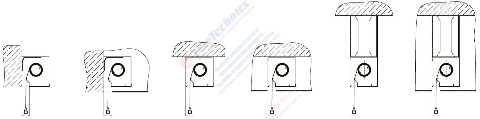Короб Противопожарных штор без орошения EI60 • EI90 • EI120