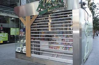 Светопрозрачные рулонные ворота, фото