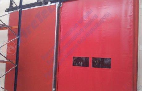 Противопожарные ворота сдвижные