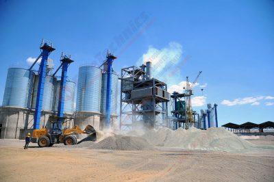 Цементный завод в Узбекистане