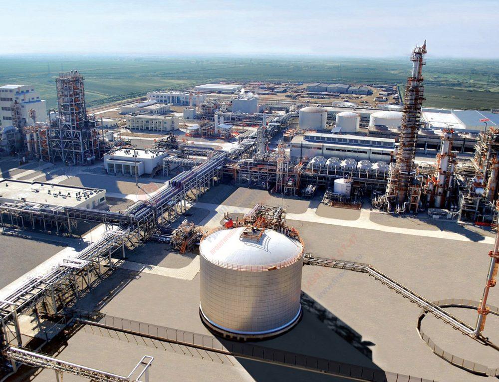 Крупный химический комплекс по производству минеральных удобрений