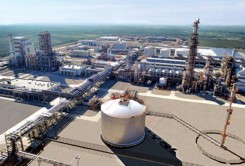 Крупный химический комплекс по производству удобрений