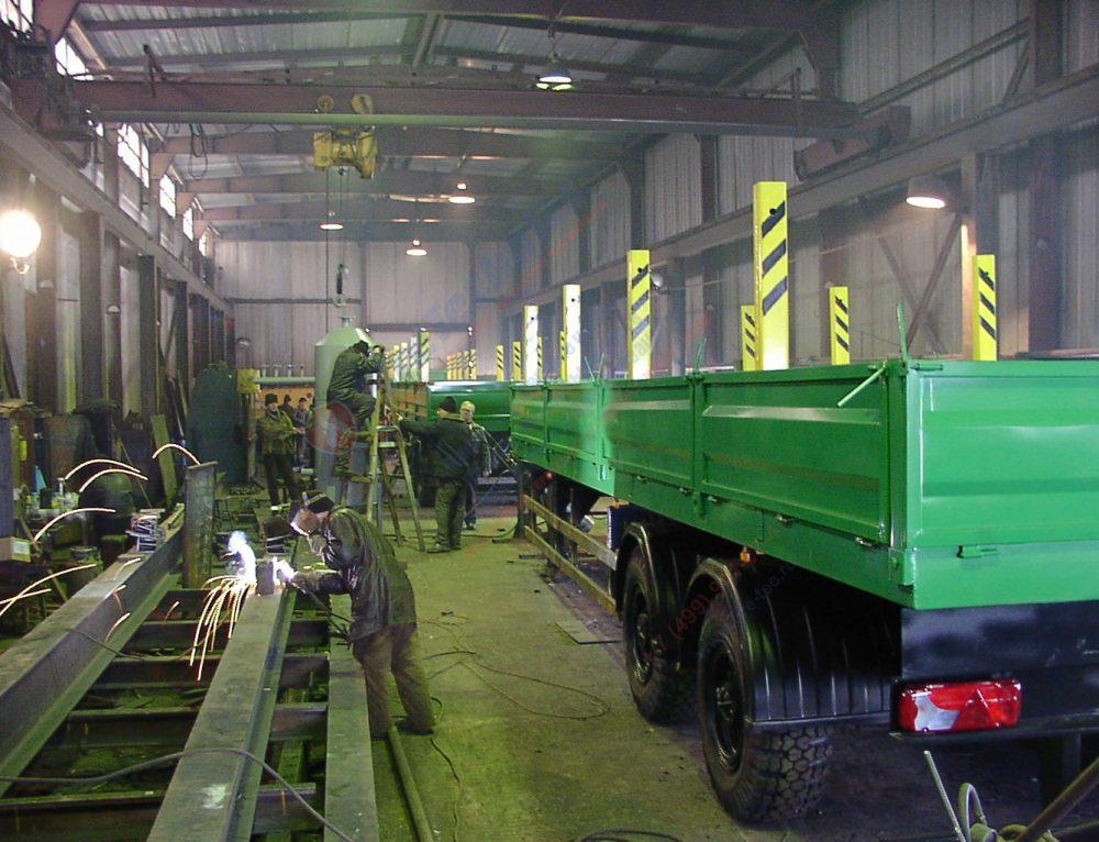 Производство прицепов и полуприцепов в Наманганской области