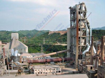 Строительство цементного завода в Узбекистане