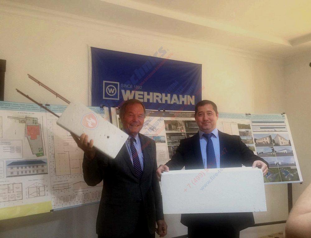 Запуск строительного проекта в Узбекистане