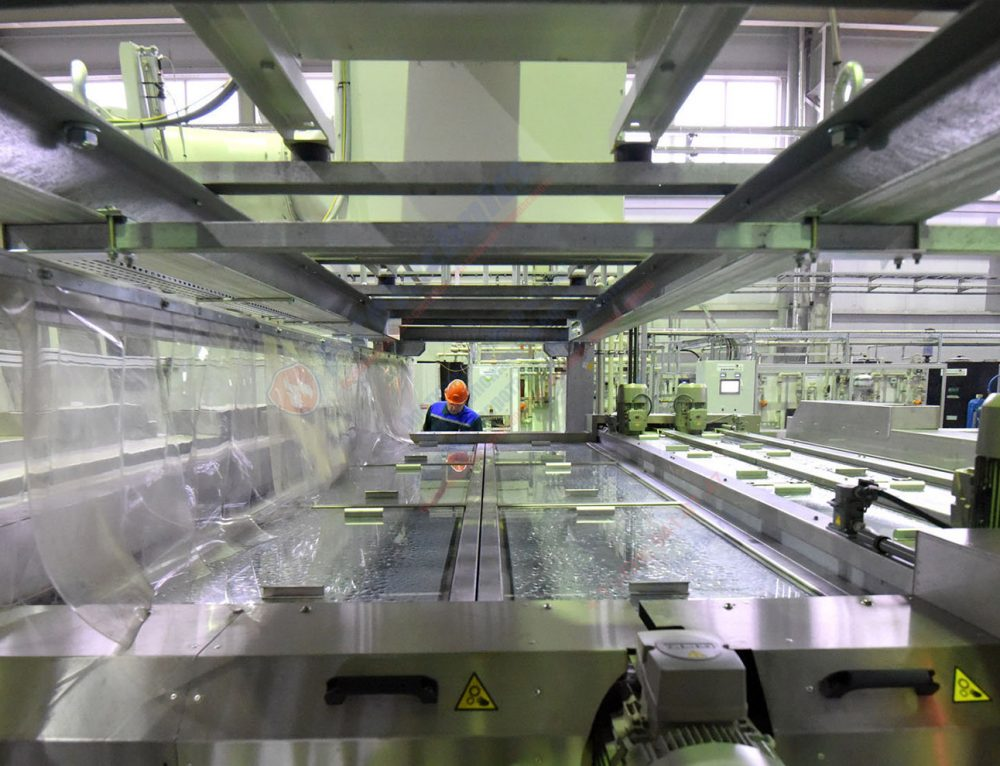 Завод по производству флоат-стекла в Узбекистане