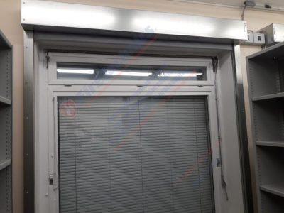 Противопожарные шторы FireTechnics EI60 без орошения на окна в Узбекистане