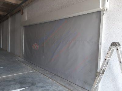 Противопожарные шторы FireTechnics EI120, без орошения водой, паркинг, Узбекистан