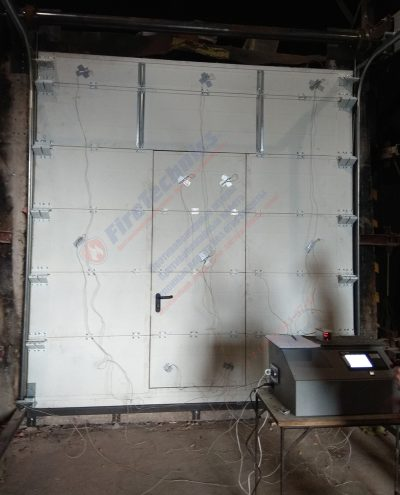 Испытания, Секционные противопожарные ворота FireTechnics FT-S EI60, Узбекистан