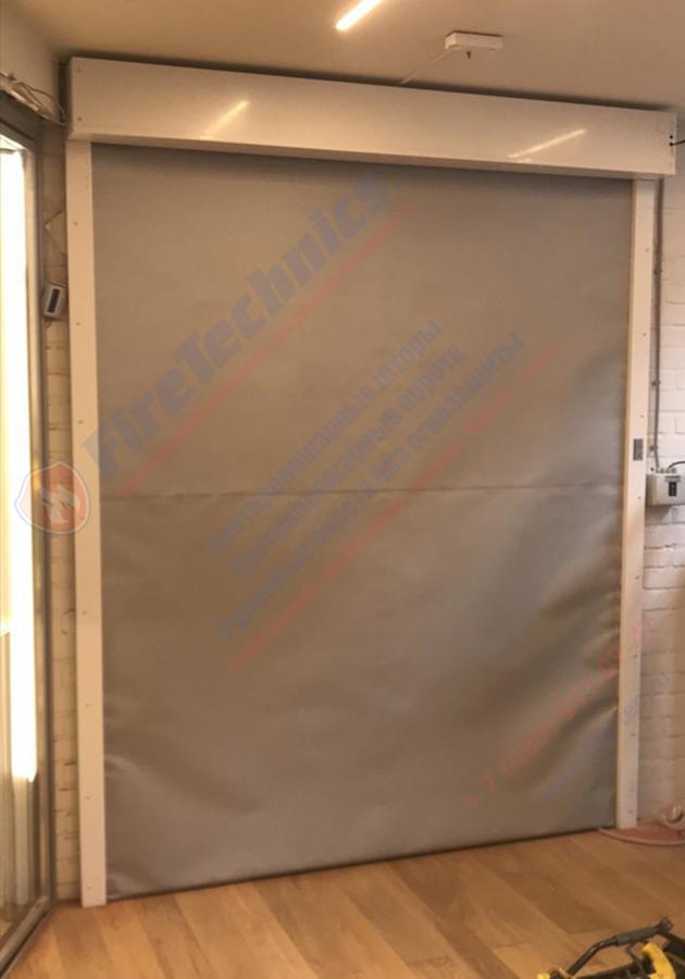 Рулонные противопожарные ворота/ шторы FireTechnics в Узбекистане