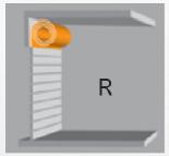 Скоростные ворота, R = Круглая спираль