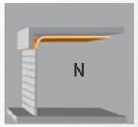 Скоростные ворота, N = Низкая перемычка